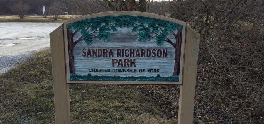Sandra J. Richardson - Entrance (Platt Rd.)