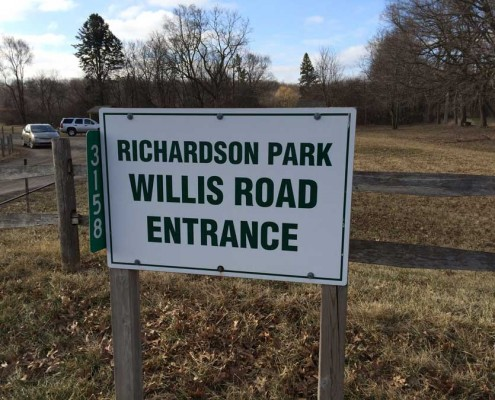 Sandra J. Richardson - Entrance (Willis Rd.)