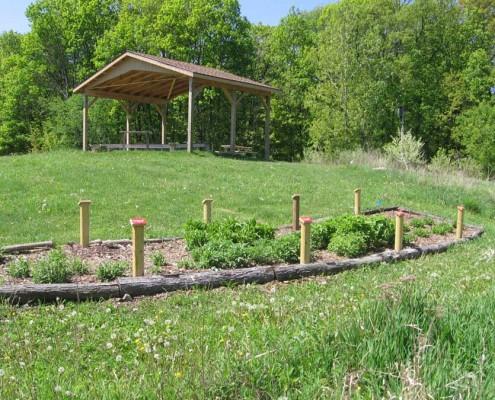 Mary McCann Teaching Pavilion Planting