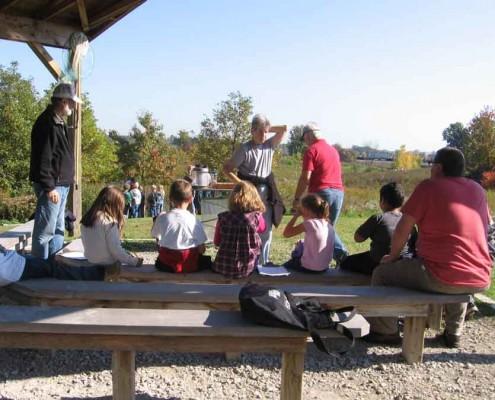 Mary McCann Teaching Pavilion MaP Field Trip