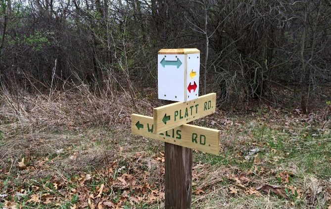 New Trail Marker System for Sandra Richardson Park